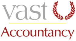 This is the VAST accountancy logo